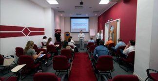 foto da Palestra Técnica sobre Inovações em Espectrometria de Absorção Atômica